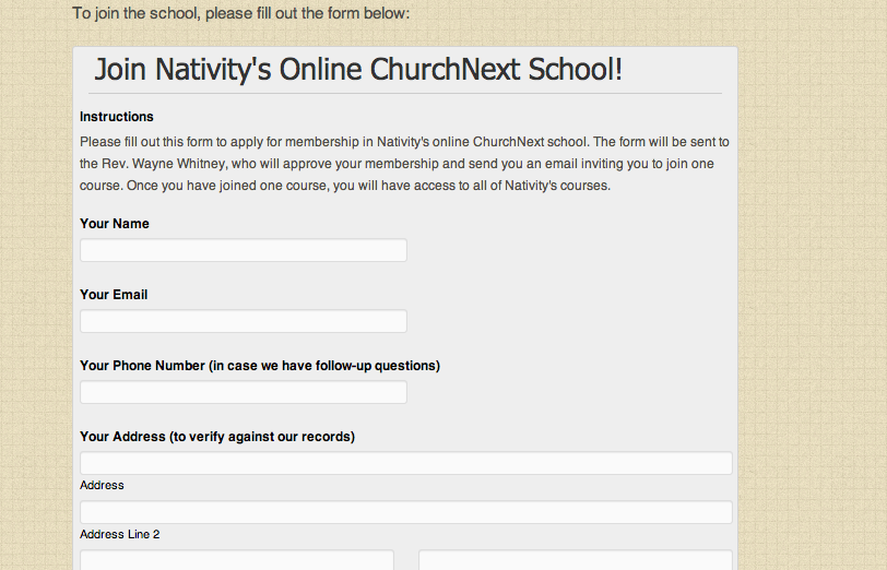Nativity School 2