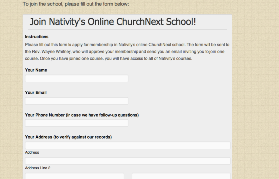 Nativity School 2