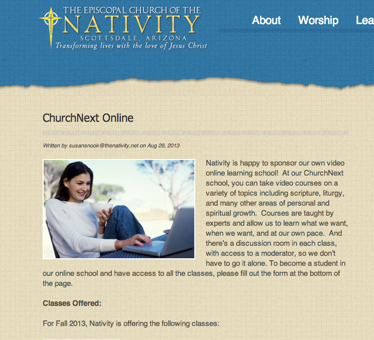 Nativity Website