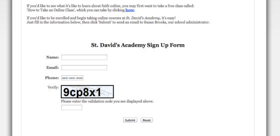 St D Website II