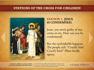 stations of cross children