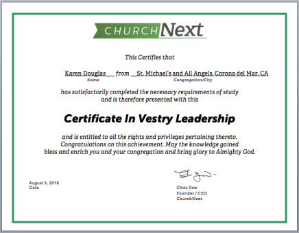 Certification Programs | ChurchNext