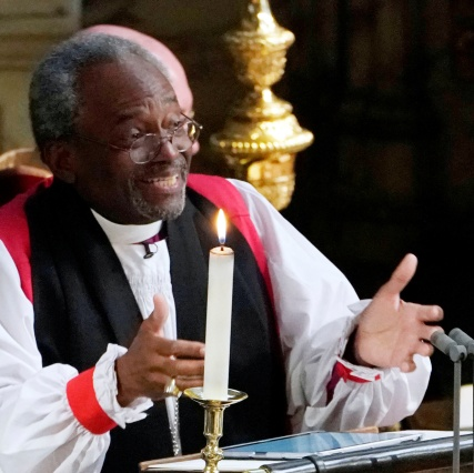 Bishop Curry preaching at wedding.jpg
